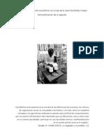 Santerías y su relación económica con el eje de la calle Fernández Crespo. Mercantilización de lo sagrado