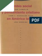 Varios Autores - Cambio Social y Pensamiento en America Latina