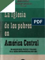Varios Autores - La Iglesia de Los Pobres en America Central