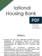 National Housing Banks(1)
