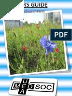 UEA Medsoc Fresher's Guide 2012