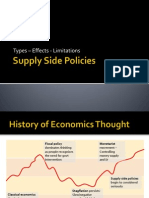 Supply Side Policies 2012