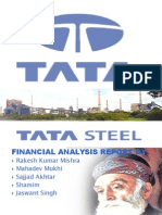 Financial analysis of tata steel limited