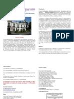 Diptico. Primer Congreso Internacional Filosofia Ciencia