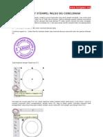 Duplikat Stempel dengan Coreldraw
