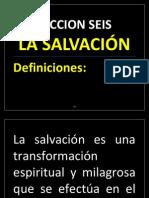 I. LAS SALVACIÓN