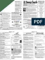 September 2 Bulletin