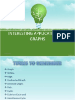 Interesting Applications of Graph Theory