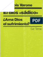 Varone, Francois - El Dios Sadico