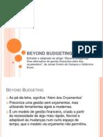 BEYOND BUDGETING - Apresentação Power Point