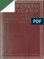 Vaticano II - Comentario a La Constitucion Sobre Liturgia