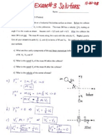 Exam 3 With Solutions