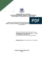 Evaluación de estrategias de reacondicionamiento térmico para el edificio de ingeniería mecánica del campus Andrés Bello de la Universidad de la Frontera