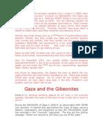 Gaza and the Gibeonites