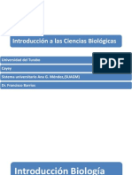 Prof. Francisco Barrios Biol 101 Biol 103