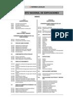 Reglamento Nacional de Edificaciones Completo