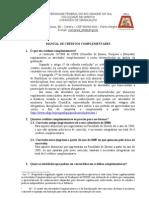 MANUAL DE CRÉDITOS COMPLEMENTARES