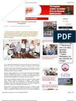31-08-2012 Periódico Express de Nayarit - Toman protesta a Comisión Técnica del Transporte