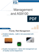 Risk Management and AS 9100