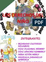 DERECHOS DEL NIÑO - JULIO CESAR