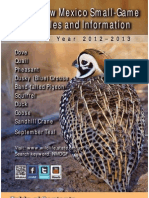 2012-13 New Mexico Small-Game and Waterfowl Rules & Information