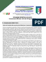 Comunicato 3 Monza