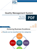 QMS is the Glue that Binds Business Excellence