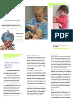 Folheto Anestesia Pediatrica