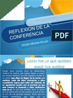 Reflexion de conferencia