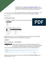 Cara Posting Di WordPress