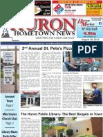 Huron Hometown News - August 30, 2012