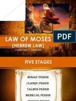 Law of Moses_philo Report