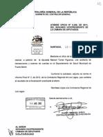 Informe de Contraloría General de la República sobre transacciones y examen de cuentas en el Departamento de Salud Municipal de Puerto Montt