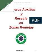 Apuntes de Primeros Auxilios en Zonas Remotas GEER