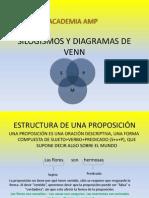 Silogismos y Diagramas de Venn (por JD Coto)