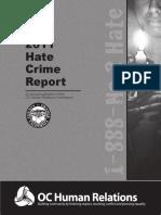 2011 Hate Crime Report