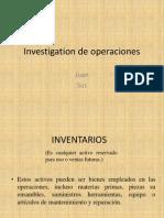 Investigation de Operaciones