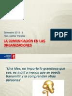 Sem. 13 Comunicacion en Las Org.