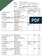 Formato Planificacion Docente Gestion Del Mantenimiento