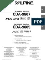 Alpine 500 CD a 9805