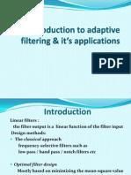 Adaptive Filter