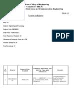 EEE_reason for Failures LIC