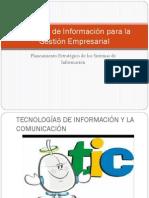 Sistemas de Información para la Gestión Empresarial
