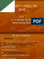 Apa Referencing Skills