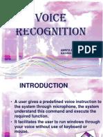 Voice Recognition PPT