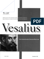 Academic Journal Vesalius, Spanish brief, Congress Andres Laguna