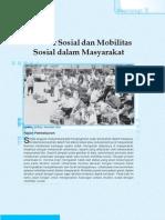 3. Struktrur Sosial Dan Mobilitas Sosial Dalam Masyarakat