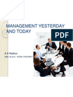 Chapter -2 , Historical Background of Management