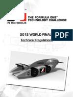 F1iS 2012WF Technical Regulations Rev1