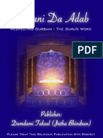 Gurbani Da Adab Final Complete